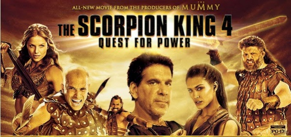 The Scorpion King 4: Quest for Power, Movie