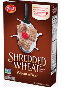 Post Shredded Wheat and Bran, Bite Size