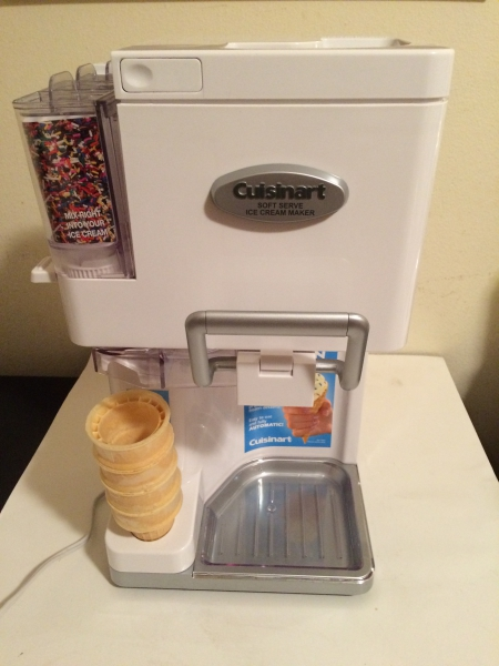 cuisinart soft serve machine