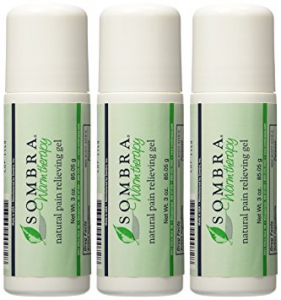 Sombra natural pain relieving roll- on gel