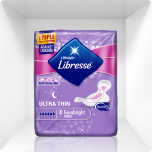 Libresse Bodyform Ultra Goodnight Sanitary Towels review