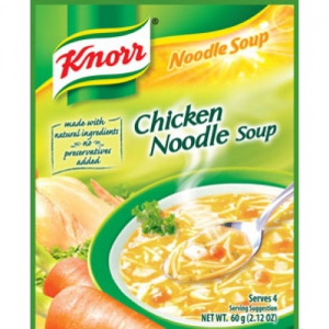 Knorr Chicken noodle soup.