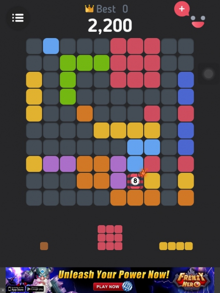 Block Jam! Game on IOS and Android Devices
