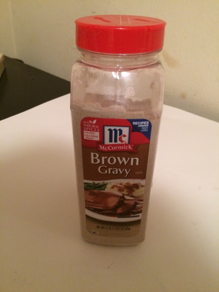 how to make brown gravy mix from scratch