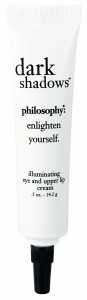 Philosophy Dark Shadows Illuminating Eye and Upper Lip cream 0.5 oz