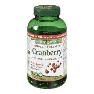 Nature Bounty Cranberry Triple Strength Review
