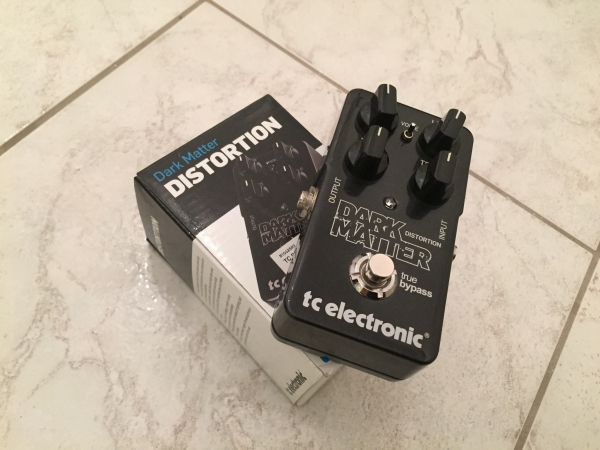 tc electronic dark matter distortion pedal review. Black Bedroom Furniture Sets. Home Design Ideas