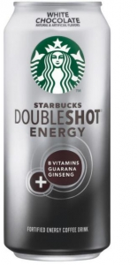 Starbucks Doubleshot Energy Drinks in White Chocolate