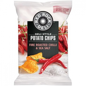 Red Rock Deli Fire Roasted Chilli & Sea Salt chips